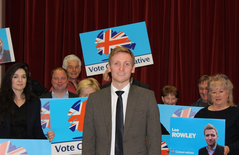 Lee Rowley selected for North East Derbyshire
