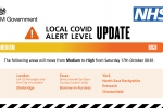 North East Derbyshire moving to high alert